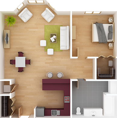 9 Design Victoria Inc Interior Layout